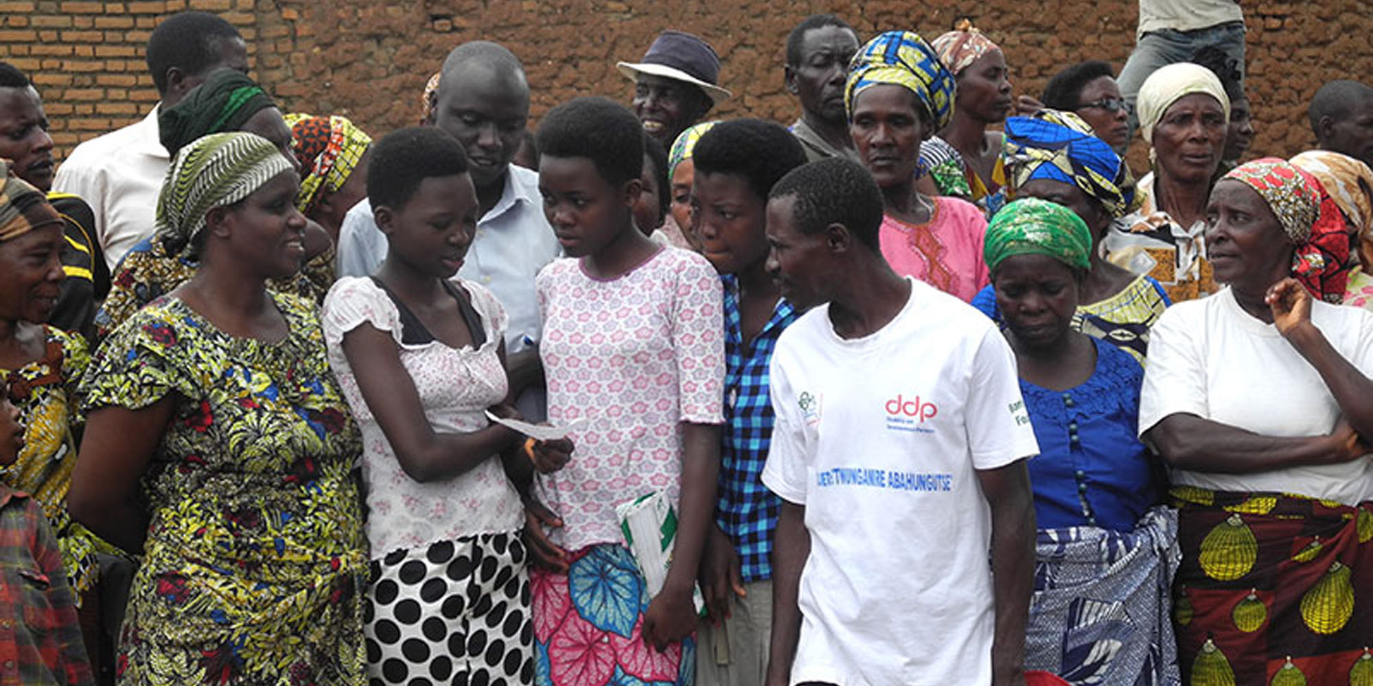 Returnees from refugee camps. Burundi